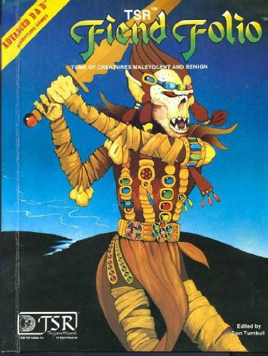 9780935696219: Fiend Folio: Tome of Creatures Malevolent and Benign: (Advanced Dungeons and Dragons)