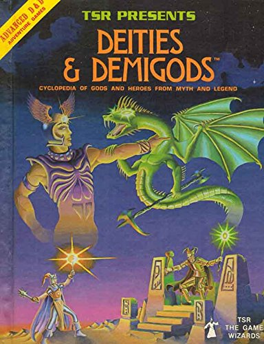 Deities & Demigods: Cyclopedia of Gods and Heroes from Myth and Legend (Advanced Dungeons and ...