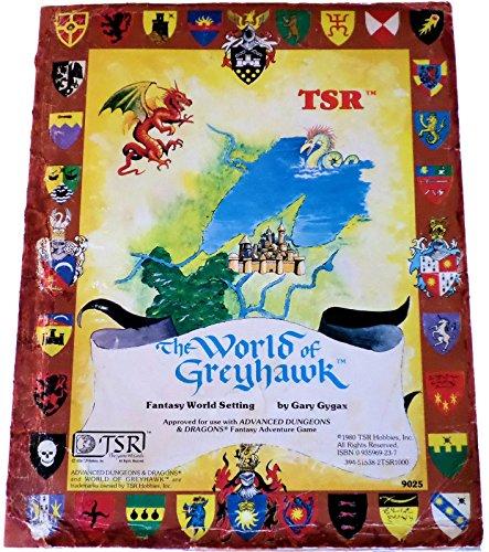 9780935696233: World of Greyhawk, folio edition (Advanced Dungeons & Dragons)