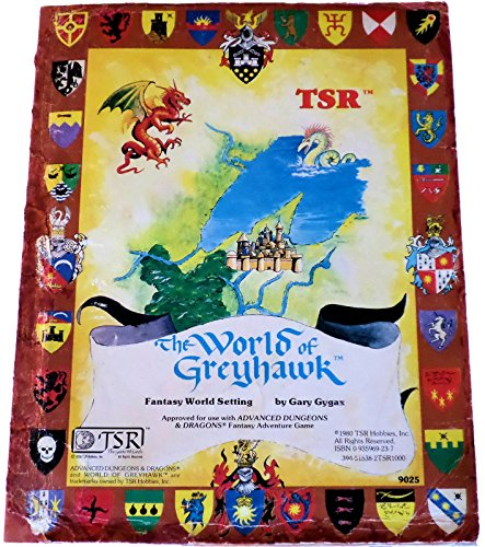 9780935696233: World of Greyhawk, folio edition (Advanced Dungeons & Dragons)