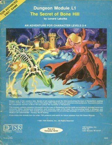9780935696325: The Secret Of Bone Hill (Dungeon Module L1 for Advanced D&D Game)