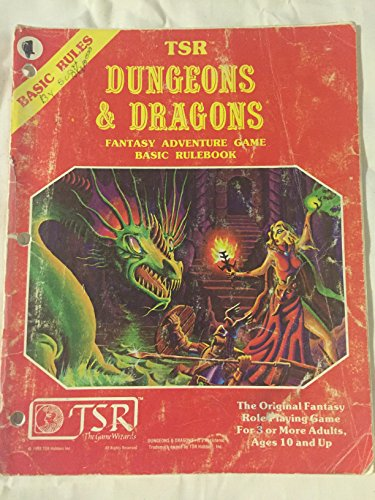 TSR Dungeons & Dragons Fantasy Adventure Game: Basic Rulebook: Gary Gygax; Dave Arneson