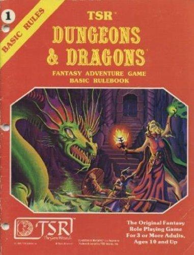 9780935696486: TSR Dungeons & Dragons Fantasy Adventure Game: Basic Rulebook #1