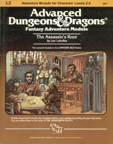 The Assassin's Knot (Advanced Dungeons & Dragons: Lakofka, Len