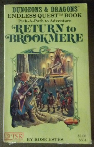 9780935696936: Return to Brookmere # (Endless quest book)