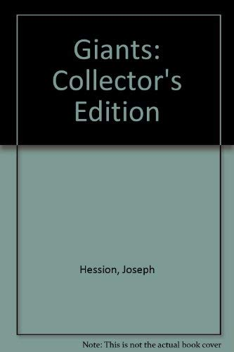 Giants: Collector's Edition: Hession, Joseph
