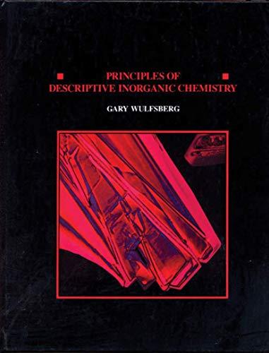 9780935702668: Principles Of Descriptive Inorganic Chemistry
