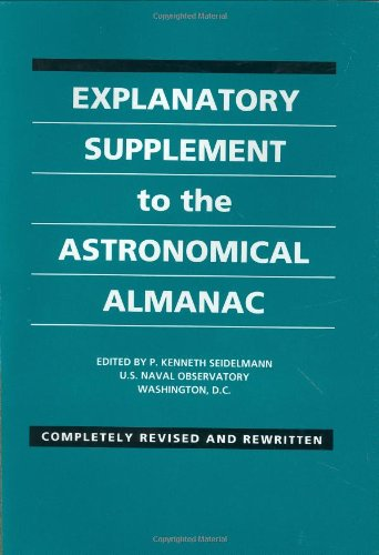 9780935702682: Explanatory Supplement to the Astronomical Almanac