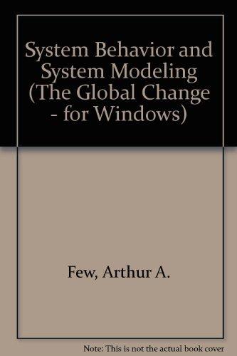9780935702835: System Behavior and System Modeling (The Global Change - for Windows)