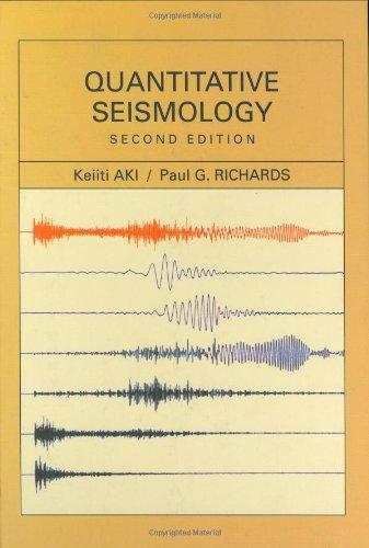 9780935702965: Quantitative Seismology