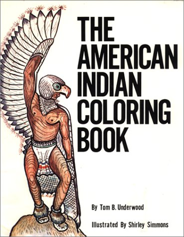 9780935741025: The American Indian: Coloring Book (Coloring Books)