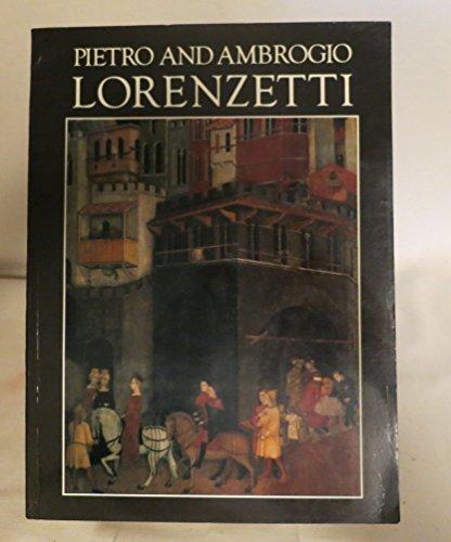 9780935748802: Pietro and Ambrogio Lorenzetti