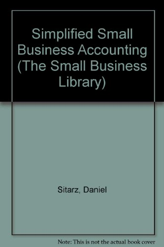 9780935755152: Simplified Small Business Accounting (The Small Business Library)
