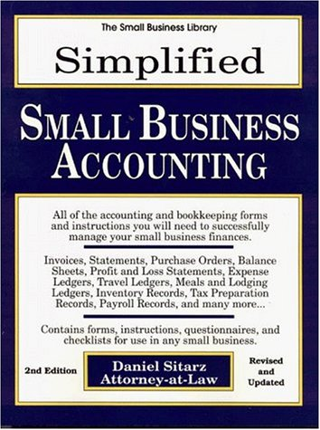 9780935755619: Simplified Small Business Accounting