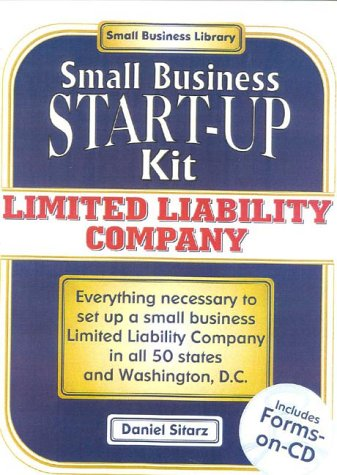 9780935755763: Limited Liability Companies: Small Business Start-Up Kit (Small Business Start-Up Kits)