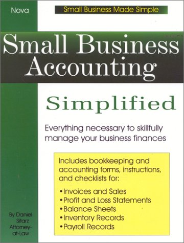 9780935755916: Small Business Accounting Simplified
