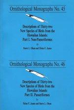 Descriptions of 32 New Species of Birds: Storrs L. Olson;