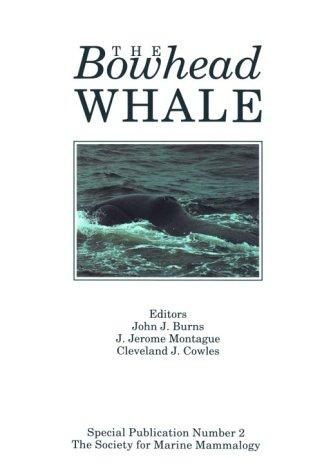 9780935868623: Bowhead Whale