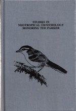 9780935868937: Studies in Neotropical Ornithology Honoring Ted Parker (OM48) (Ornithological monographs)