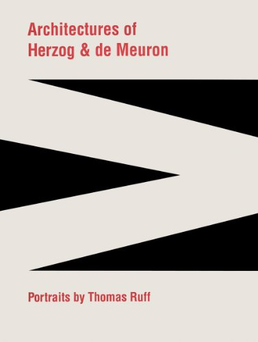 9780935875126: Architectures of Herzog & de Meuron: Portraits by Thomas Ruff