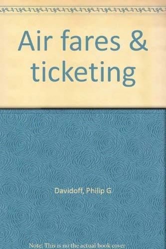 9780935920390: Air fares & ticketing