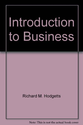 9780935920499: Introduction to Business