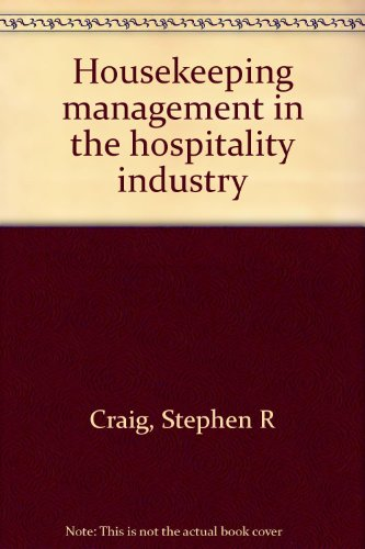 9780935920659: Housekeeping management in the hospitality industry