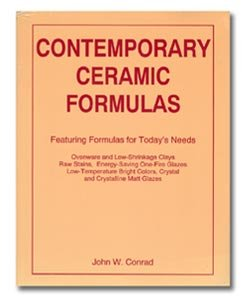 9780935921212: Contemporary Ceramic Formulas