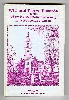 Will and Estate Records in the Virginia: John Vogt, T.