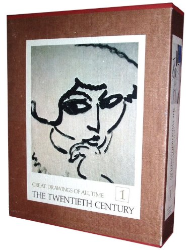 Great Drawings of All Time: The Twentieth Century (2 Volumes)