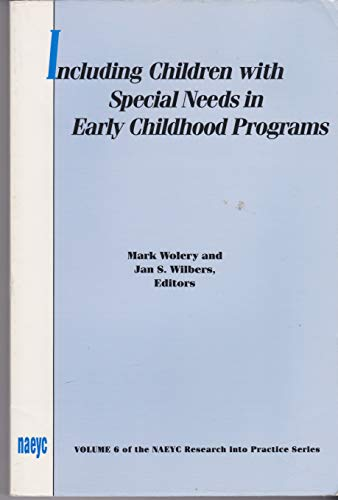 Including Children With Special Needs in Early: Mark Wolery, Jan