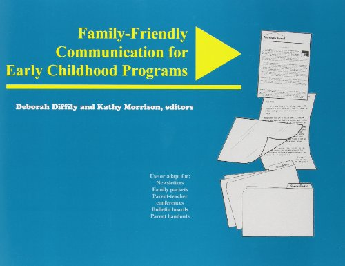 9780935989786: Family-Friendly Communication for Early Childhood Programs (NAEYC)