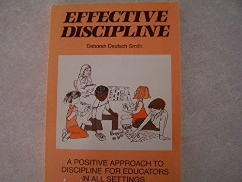 9780936104355: Effective Discipline