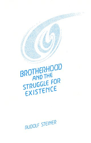 9780936132358: Brotherhood and the struggle for existence: A lecture