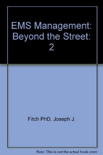 9780936174105: Ems Management: Beyond the Street