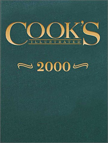 9780936184487: Cook's Illustrated Annual 2000