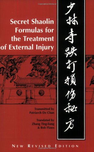 9780936185088: Shaolin Secret Formulas for the Treatment of External Injury