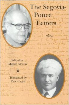 9780936186290: The Segovia-Ponce Letters