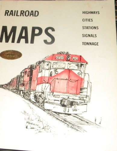 Railroad Maps, the South: Highways, Cities, Stations,: Department of Transportation
