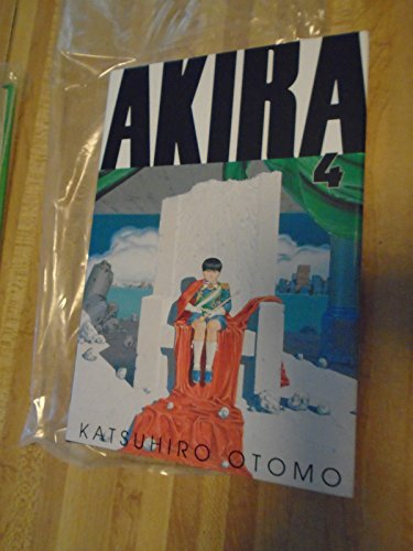 Akira Book Four Numbered Limited Edition