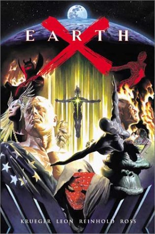 Earth X, Signed Numbered 5515 in Crystal Box With Poster & CDs.: Ross, Alex, Jim Krueger, John ...