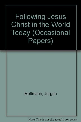 9780936273037: Following Jesus Christ in the World Today (Occasional Papers)