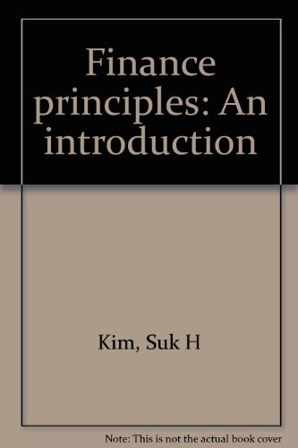 Finance Principles: An Introduction