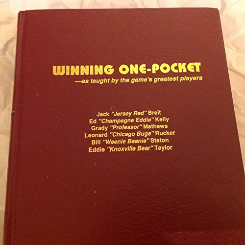Winning One-Pocket...As Taught by the Game's Greatest Players (0936362146) by Eddie Robin