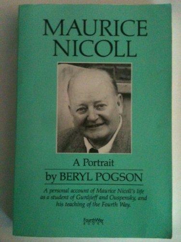 9780936385242: Maurice Nicoll: A Portrait