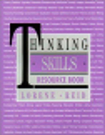 9780936386584: Thinking Skills Resource Book
