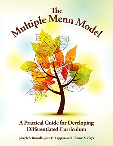 9780936386867: The Multiple Menu Model: A Practical Guide for Developing Differentiated Curriculum