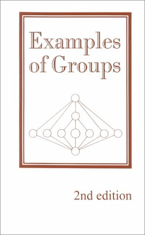 9780936428178: Examples of Groups