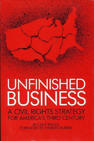 9780936488356: Unfinished Business: A Civil Rights Strategy for America's Third Century