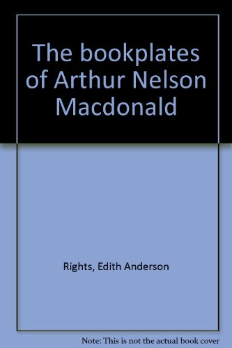 The Bookplates of Arthur Melson Macdonald: Rights, Edith Anderson